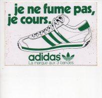 REF 5  : Autocollant Sticker 1970/1980 Je Ne Fume Pas Je Cours - Autocollants
