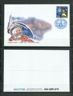 2011 Mongolia Gagarin Space - FDC & Commemorrativi