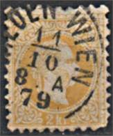 AUTRICHE Empire 1867-1880 Y&T N° 32 Obl Used - Usati