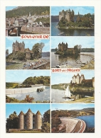 Cp, 19, Bort-les-Orgues, Multi-Vues, Voyagée 1987 - Autres Communes