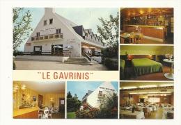 "Cp, 56, Auray - Toulbroche En Baden, BAr Hôtel Restaurant ""Le Gavrinis"", Multii-Vues - Auray"