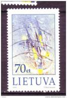 Lituanie, Lietuva, Peinture Abstraite, Painting, Art, Cloche, Bell - Moderne