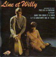 EP LINE ET WILLY **  PRES DE LA FONTAINE - Vinyles