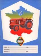 Protège Cahier - Tracteur RENAULT D 30 - Motoculture - Buvards, Protège-cahiers Illustrés