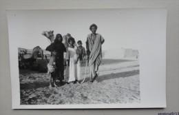 EGYPTE - Carte Photo - Famille  Bishareen ( Bisharin) - Egypt