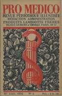 Pro Medico 1934 - Peinture Française Moderne Écailleux Sirènes Tritons Bon Vieux Temps Van Helmont Syphilis - Books, Magazines, Comics