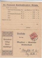 Haute Silésie - Allemagne - Carte Postale De 1921 - Oblitération Gleiwitz - Sudetenland