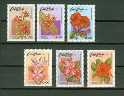Cape Verde 1980,6V,flowers,bloemen,blumen,fleurs,flores,MNH/Postfris, (E2140 - Planten