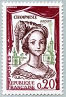 France N° 1301, ** La Champmeslé Dans Le Rôle De Roxane - France