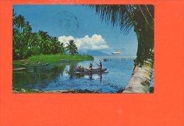 La Nouvelle Tahiti (timbres , Oblitérations)  (plis Coin Droit) - Tahiti