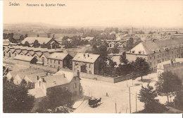 Sedan (Ardennes)-Panorama Du Quartier Fabert- Caserne Des Dragons-Militaria-Attelage-Edit. J.Winling, Charleville - Sedan