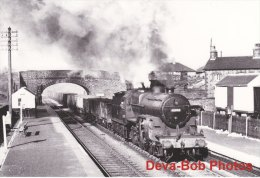 Railway Photo Print LMS Horwich Crab 42892 DOVE HOLES 1956 BR 2-6-0 Loco - Picture Cards