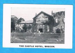CPA- The Castle Hotel, Brecon- Royaume Uni, Pays De Galles, Breconshire - Breconshire