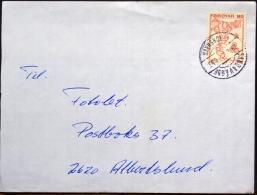 Faroe Islands Sandavàgur Letter To Denmark   ( Lot 1915 ) - Faroe Islands