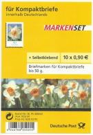 Deutschland 2006 Markenheftchen Booklet  Mi 2515 ** MNH Blumen Narzisse Folienblatt FB 1a Selbstklebend 10 X 0,90 Euro - BRD