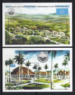 TURISMO - MICRONESIA 1990 - Yvert #H7/8 - MNH ** - Vacaciones & Turismo