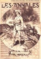 LES ANNALES N°1779 Du 29/07/1917. Léon Huygens Et Alfred Bastien Artistes Dans Les Ruines De Nieuport (Belgique), - Informations Générales