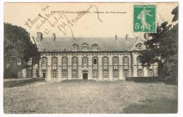 I947 Amfreville Sous Les Monts - Chateau Des Deux Amants - Castello Chateau Schloss Castillo / Viaggiata 1915 - Francia