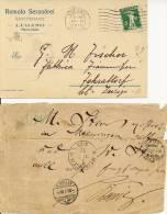 6 Poststukken Zwitserland / Poststücke Schweiz - Switzerland