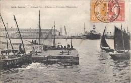 LORIENT AVANT-PORT ECOLE DES APPRENTIS MECANICIENS 56 - Lorient