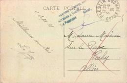 """CACHET POSTE P.T.T. """" INCONNU A L'APPEL DES FACTEURS DE VICHY LE FACTEUR """" 03 ALLIER + Cpa Dinan - Vichy"""