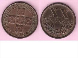 *portugal 20 Centavos  1969   Km 584  Xf - Portugal