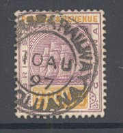 BRITISH GUIANA, Postmark DEMERARA RAILWAY On Qvictoria Stamp - British Guiana (...-1966)
