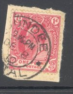 CAPE Used In NATAL (interprovincial Postmark) DUNDEE - Cape Of Good Hope (1853-1904)