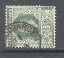 CEYLON, Postmark ´CINNAMON GARDEN´ - Ceylon (...-1947)