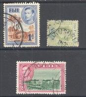 FIJI, Postmark Selection #4 - Fiji (...-1970)
