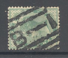 INDIA, B-1 Barred Postmark (small Tear) - 1882-1901 Empire