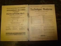 1929 LA TECHNIQUE MODERNE Et Aussi : Pub HEIDENHEIM, BRENZ ; Un Dirigeable Entièrement Métallique En Alliage Aluminium - Livres, BD, Revues
