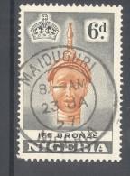 """NIGERIA, Postmark """"""""MAIDIGURI"""""""" - Nigeria (...-1960)"""