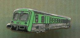 Pin´s Pins - Metro Vert - Train - SNCF - TER - Au Dos Inscrit METARGENT - TGV