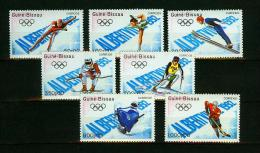Guinea-Bissau 1989,7V,olympic Games Albertville 1992,MNH/Postfris,(E3717) - Zomer 1992: Barcelona