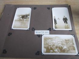 Scrapbook Pages Photographs 1947 Weston Super Mare - Personas Anónimos