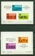 Mexico 1967,4 Blocks,set,olympyc Games,olympische Spelen,MNH/Postfris, (E2287) - Zomer 1968: Mexico-City