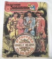 Rare BEATLES (front Page) 1982 Belgrade (Serbia) & Cartoon Comic Story ´´boys From Liverpool´´ - Books, Magazines, Comics