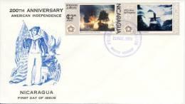 FDC Nicaragua 1976 - Nicaragua