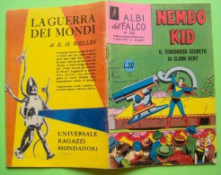 FB0010 FUMETTO NEMBO KID ALBI DEL FALCO NUMERO 103 1958 TENEBROSO SEGRETO DI CLARK KENT - Super Heroes
