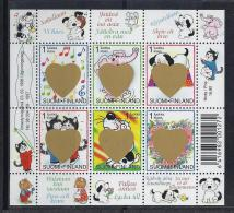 INFANCIA - FINLANDIA 1998 - Yvert #1387/92 - MNH ** - Cuentos, Fabulas Y Leyendas