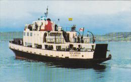 "Ferry Traversier M/V ""INCH ARRAN"" Dalhousie N.B. To A Miguasha Quebec , Canada , 50-60s - Non Classés"