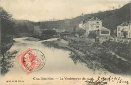 CHAUDFONTAINE LA VESDRE VUE DU PONT - Chaudfontaine