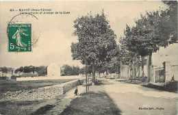 Deux Sevres -ref A798- Mauzé - Gendarmerie Et Avenue De La Gare   -carte Bon Etat   - - Mauze Sur Le Mignon