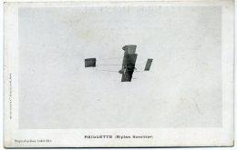Avion (Biplan Sommer) Piloté Par Paillette - Avions