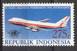 INDONESIA MNH ** 1984 ZBL 1221 AIRPALNE B 747 AVIATION - Indonésie