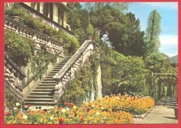 CARTOLINA NV ITALIA - LAGO DI COMO (CO) - Villa Carlotta - Scalinata  - 10 X 15 - PERFETTA - Como
