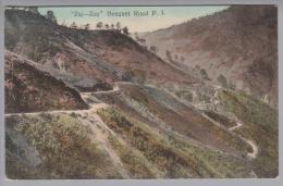 Philippinen Benguet Road 1912-12-05 Degio AK Nach Singapore - Philippines