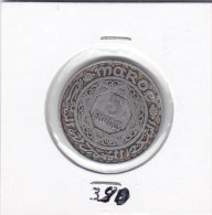 50 FRANCS Alu EMPIRE CHERIFIEN AH 1370 - Maroc