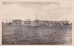 Egypt Alexandria Ras El Din Palace Real Photo RPPC
